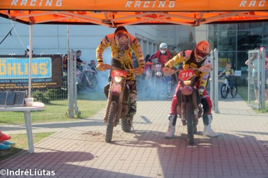 Lapse vyko Lietuvos ir Baltijos Enduro empionato I etapas