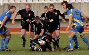 Rugby match Lithuania - Sweden