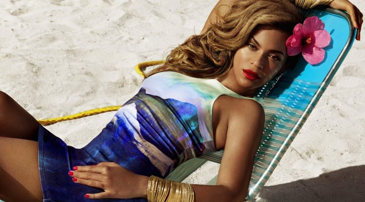 Beyonce. H&M nuotr.